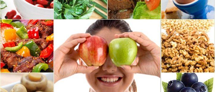 Диета при глаукоме: запрещенные и разрешенные продукты питания.